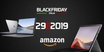 Surface Black Friday 2019: gli sconti dei prodotti Microsoft