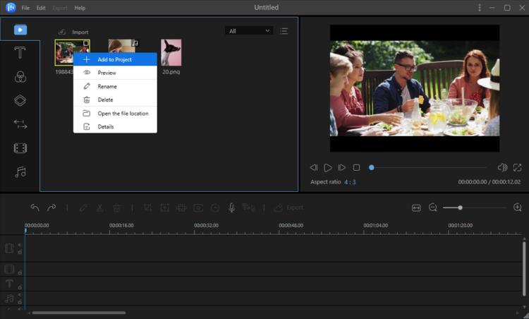 Editing video facile con EaseUS Video Editor