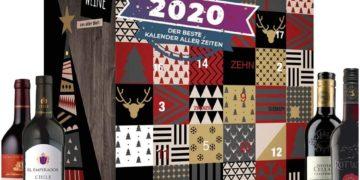 Il Calendario dell'Avvento 2020 con 24 bottiglie di Vino